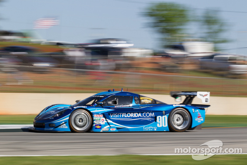 #90 Spirit Of Daytona Corvette DP: Richard Westbrook, Ricky Taylor