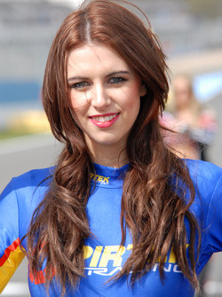 Pirtek Racing grid girl