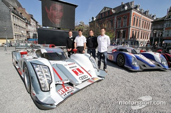 Patrick Pilet, Loic Duval, Jean-Karl Vernay, Bertrand Baguette