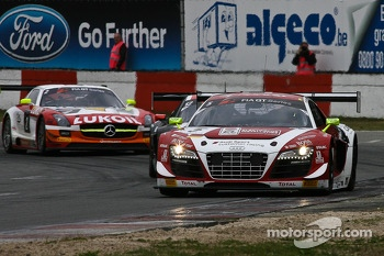 #5 Phoenix Racing Audi R8 LMS ultra: Enzo Ide, Anthony Kumpen