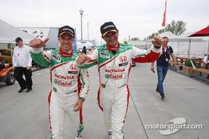 Tiago Monteiro and Gabriele Tarquini