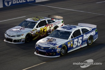 Mark Martin and Travis Kvapil