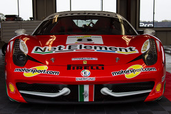 #8 Ferrari 458 in the garage