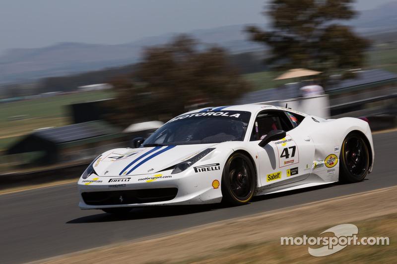 #47 Ferrari of Houston Ferrari 458: Darren Crystal