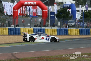 Spin for #9 Sbastien Loeb Racing Mc Laren MP4/12C: Nicolas Tardiff, Nicolas Marroc