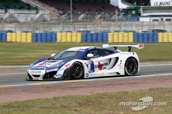 #8 Sébastien Loeb Racing Mc Laren MP4/12C: Laurent Pasquali, Anthony Beltoise