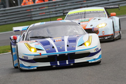 #54 AF Corse, Ferrari F458 Italia: Yannick Mallegol, Jean-Marc Bachelier, Howard Blank