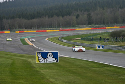 Exiting the double left at «Pouhon»