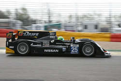 #25 Delta-ADR Oreca 03-Nissan: Tor Graves, Antonio Pizzonia, James Walker