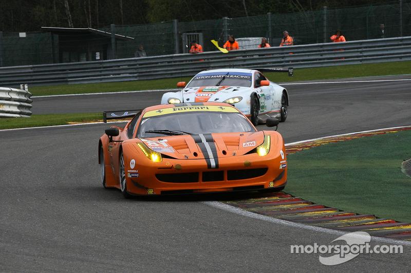#81 8 Star Motorsports Ferrari F458 Italia: Vincente Potolicchio, Rui Aguas, Matteo Malucelli