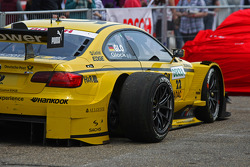Car of Timo Glock, BMW Team MTEK BMW M3 DTM after the race