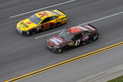 Bobby Labonte and David Gilliland