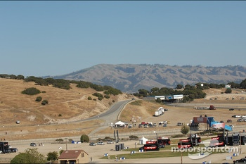 Scenic view of Laguna Seca