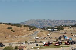 Scenic view of Laguna Seca