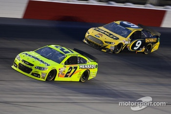 Paul Menard and Marcos Ambrose