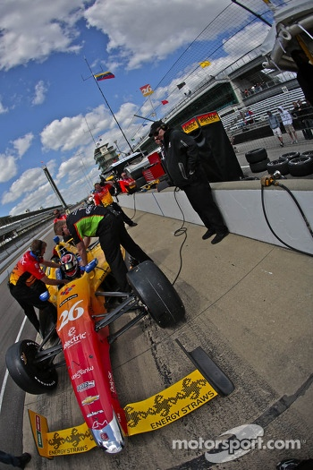 Carlos Munoz, Andretti Autosport Chevrolet