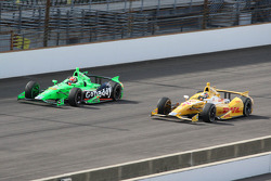 James Hinchcliffe and Ryan Hunter-Reay, Andretti Autosport Chevrolet