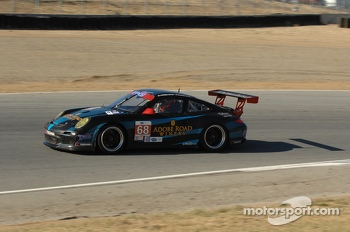 #68 TRG Porsche 911 GT3: Andrew Novich, Craig Stanton