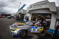 #25 Marc VDS Racing BMW Z4 GT3 (SP9) at technical inspection