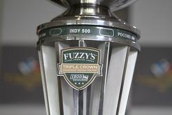 The Triple Crown trophy