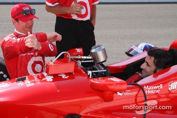 Scott Dixon and Dario Franchitti