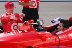 Scott Dixon and Dario Franchitti