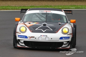 #75 PROSPEED Competition Porsche 911 GT3 RSR: Francois Perrodo, Emmanuel Collard, Sbastien Crubile