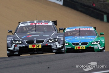 Augusto Farfus, BMW Team RBM BMW M3 DTM and Joey Hand, BMW Team RBM BMW M3 DTM 