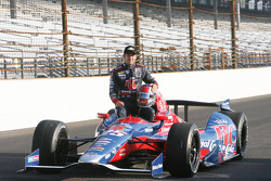Third place qualifier Marco Andretti, Andretti Autosport Chevrolet