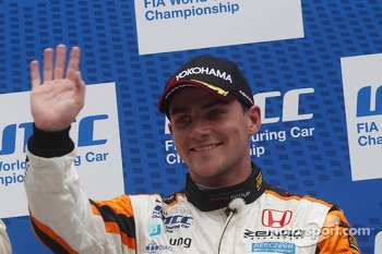 3rd position Norbert Michelisz, Honda Civic, Zengo Motorsport