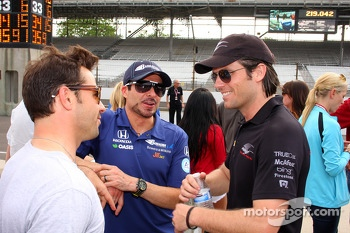 Oriol Servia and Alex Tagliani