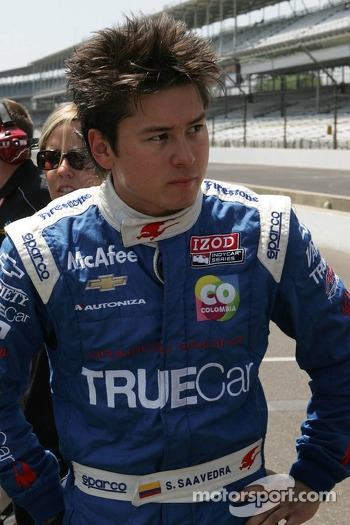 Sebastian Saavedra, Dragon Racing Chevrolet