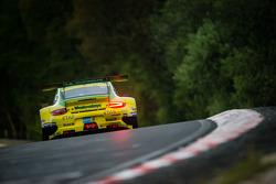 #18 Manthey-Racing Porsche 911 GT3 RSR (SP7): Marc Lieb, Romain Dumas, Lucas Luhr, Timo Bernhard