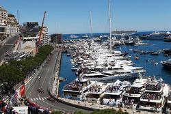 Sergio Perez, McLaren MP4-28 leads team mate Jenson Button, McLaren MP4-28