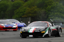 #50 AF Corse Ferrari 458 Italia: Niek Hommerson, Louis Machiels, Andrea Bertolini