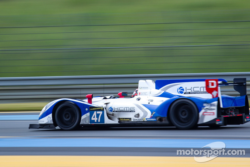 #47 KCMG Morgan LMP2-Nissan: Alexandre Imperatori, Ho-Pin Tung, Matt Howson