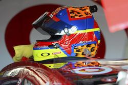Helmet of Juan Pablo Montoya, Earnhardt Ganassi Racing Chevrolet