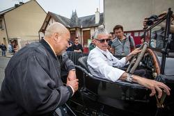 Pontlieue hairpin recreation event: Yojiro Terada and Rinaldo Capello