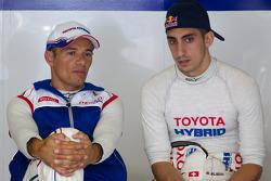 Stéphane Sarrazin and Sébastien Buemi