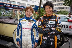Keiko Ihara and Shinji Nakano