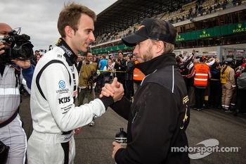 Timo Bernhard and Nick Heidfeld