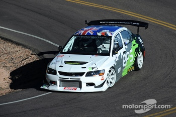 #75 Mitsubishi Evo 9 RS: David Rowe