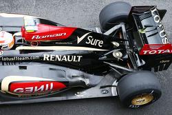 Romain Grosjean, Lotus F1 E21 engine cover