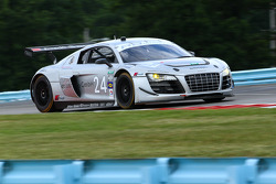 #24 Audi Sport Customer Racing Audi R8 Grand-Am: Filipe Albuquerque, Edoardo Mortara, Dion von Moltke