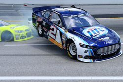 Massive crash for Brad Keselowski, Penske Racing Ford