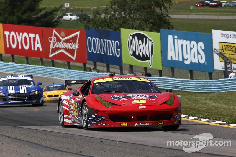 #56 AF Waltrip RK Motors Ferrari 458: Rui Aguas, Robert Kauffman