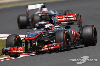 Jenson Button McLaren MP4-28