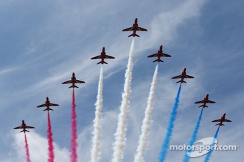 Red Arrows Air Display