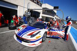 #49 AF Corse: Yannick Mallegol, Jean-Marc Bachelier, Howard Blank, Ferrari 458 Italia