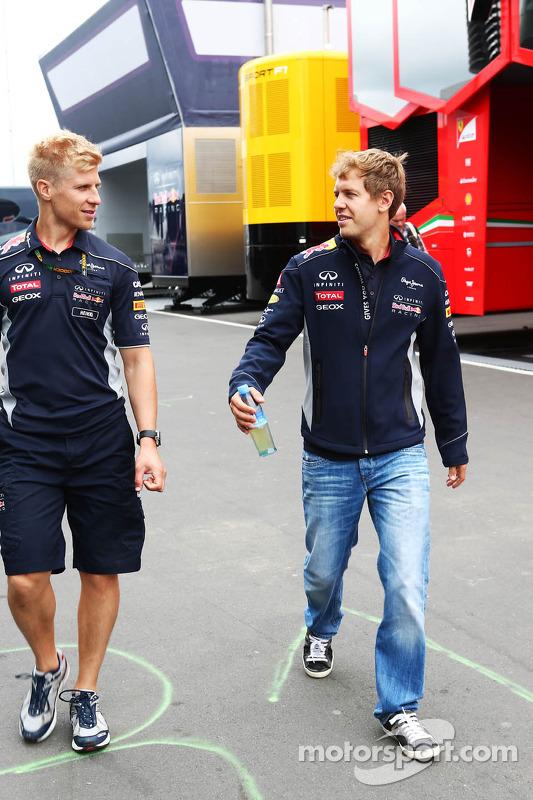 Heikki Huovinen, Personal Trainer, with Sebastian Vettel, Red Bull Racing